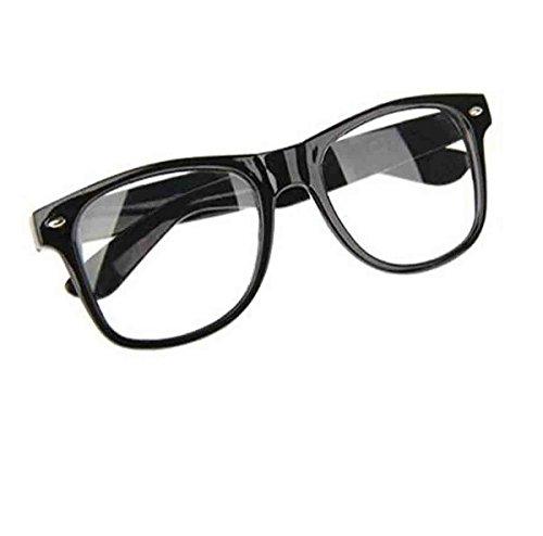 Glossy Look Big Girls' Tartan Nerd Geek Glasses Bow Squad School 3 Pcs Set One Size - Bow With Geek Glasses