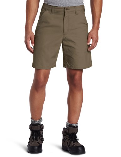 Carhartt Men's Canvas Utility Work Short B144,Light (Cotton Canvas Work Shorts)