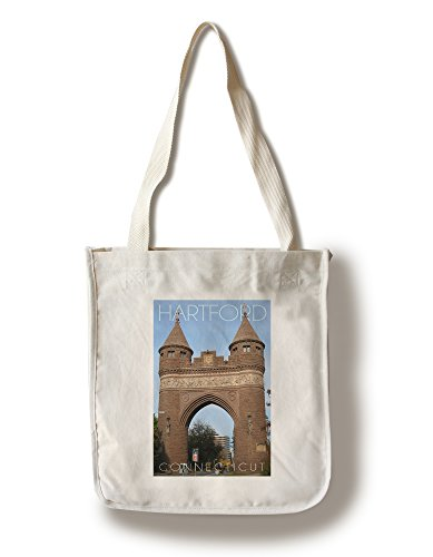 Lantern Press Hartford, Connecticut - Soldiers and Sailors Memorial Arch (100% Cotton Tote Bag - ()