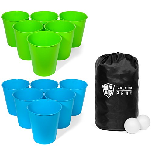 Tailgating Pros Giant Lawn Pong w/Carrying Case!