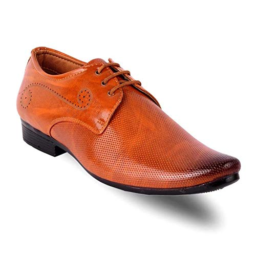 AGRAMAX Men Synthetic Leather Formal