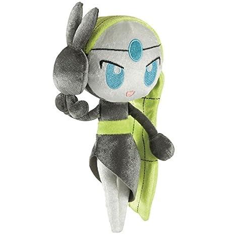 Tomy pokémon peluche di meloetta personaggio dei cartoni animati