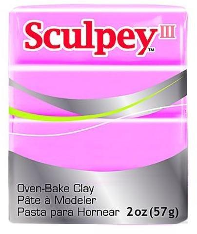 (Sculpey Modeling Compound III (Dusty Rose) 5 pcs sku# 1835175MA)