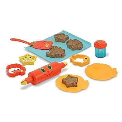 Melissa & Doug Seaside Sidekicks Sand Cookie Set by Melissa&Doug: Toys & Games