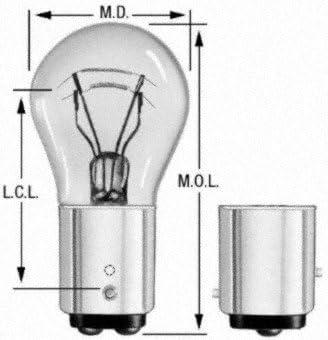 Wagner iluminación 2057 Bombilla en Miniatura – Caja de 10: Amazon.es: Coche y moto