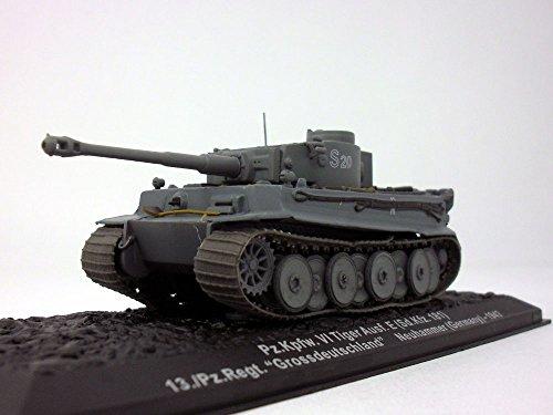 Panzerkampfwagen VI Tiger Ausf. E - Tiger I - 1/72 Scale Diecast Model