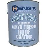 HENG's ROOF COATINGS & SEALANTS RV 1gal ALKYD ROOF COATING ALUM