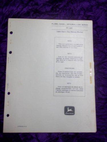 Series Chisel Plow (John Deere 1001 Series Plows/Chisels OEM Parts Catalog)