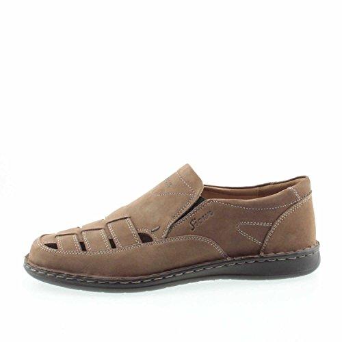 Sioux Hombre Slipper marrón Marrón - marrón