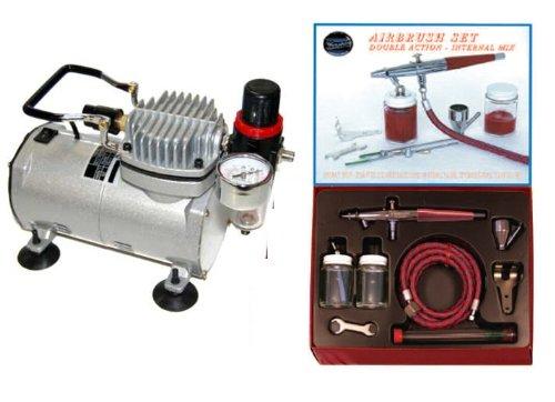 - Paasche VL AIRBRUSH SET w/Air Brush Compressor