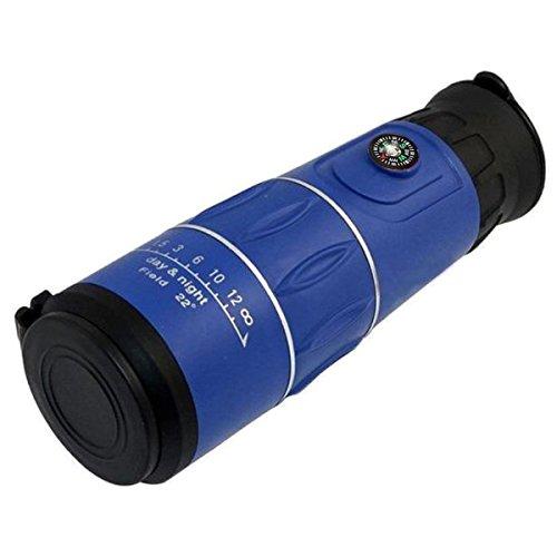 UniqueBella New HD Clear Zoom Optical Monocular Telescope Sport Camping, Blue