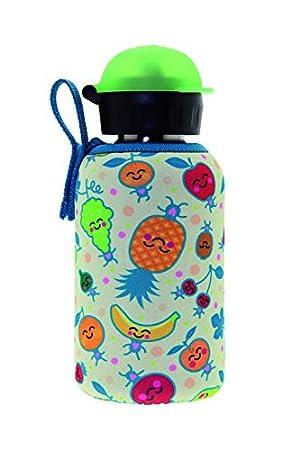 Laken - Termo Unisex Juvenil con diseño de Frutas, de Acero ...