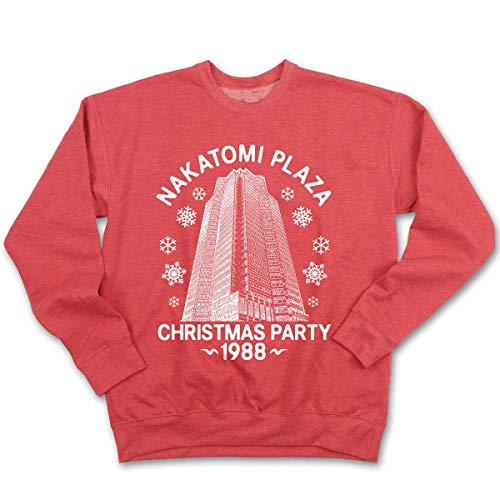 Fluffy Crate Nakatomi Plaza | Ugly Christmas Sweatshirt...
