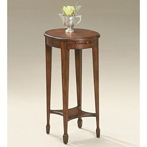 Plantation Cherry End Table - Butler specality company BUTLER 1483024 ARIELLE PLANTATION CHERRY ACCENT TABLE