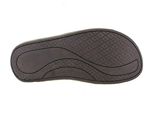 Buckle Black Women's Bottom Rocker Sandal Double Strap Exersteps qdxAnz5q
