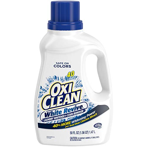 OxiClean White Revive Laundry Stain Remover, 50 fl -