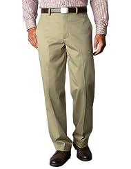 Dockers Men's Signature Khaki D4 Relaxed-Fit Flat-Front Pant