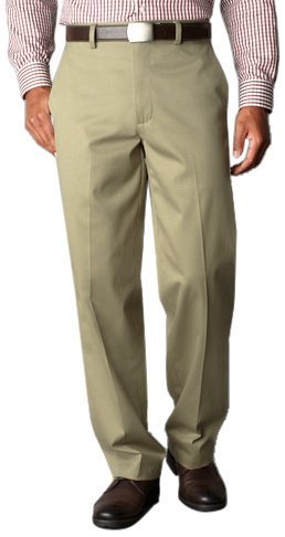Dockers Men's Relaxed Fit Signature Khaki Pant - Flat Front