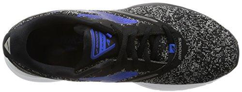 Brooks Mens Launch 4 Zwart / Antraciet / Electric Brooks Blue