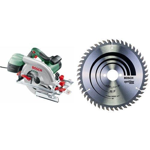 Hoja de sierra circular Optiline Wood 2 608 640 617 PKS 66 AF 48 190 x 30 x 2,6 mm Sierra circular Bosch pack de 1