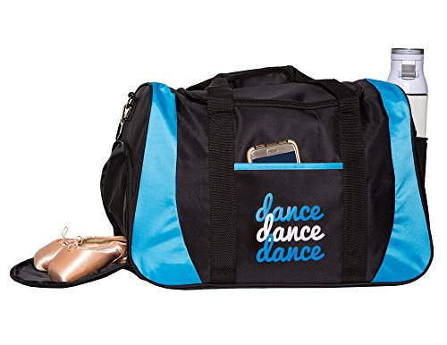 Horizon-Dance-8502-Dance-III-Medium-Large-Dance-Bag-with-Shoe-Compartment-Blue