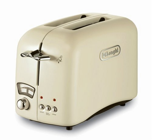 De Longhi CT02E Toaster 2 Slice Cream Amazon Kitchen & Home