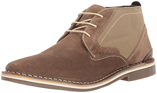 Sole Low Top Boots (Steve Madden Men's Hotshot Chukka Boot, Taupe, 8.5 M US)