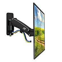 "North Bayou Universal Full Motion Articulating Gas Spring Wall Monitor TV Mount F400 for LED, LCD, Flat Panel Screens 50"" - 60"" inch, support load from 30.8 to 50 lbs."