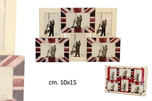 PORTAFOTO FLAG 6PS 10X15 C112016