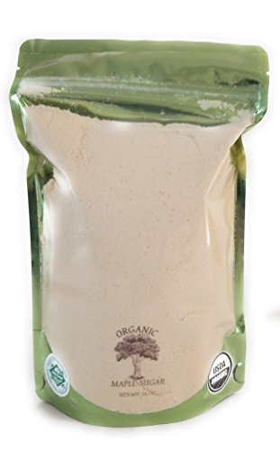 Frost Natural Wood - Frost Ridge Maple Farm, Organic Maple Sugar, Grade A, One Pound (16 oz)