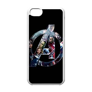 Custom Cover Case Fashion The Avengers Time For iPhone 5C SXSEQ948237