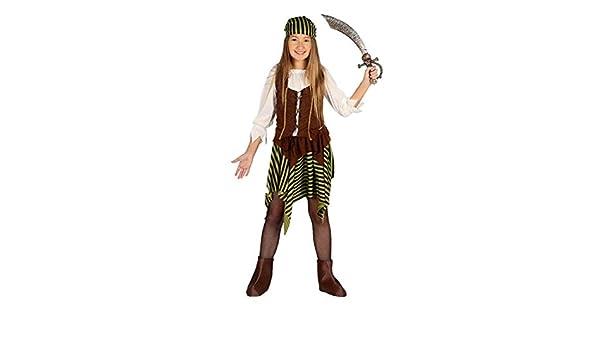 Guirca - Disfraz de Pirata de Bucanera para niña: Guirca: Amazon ...