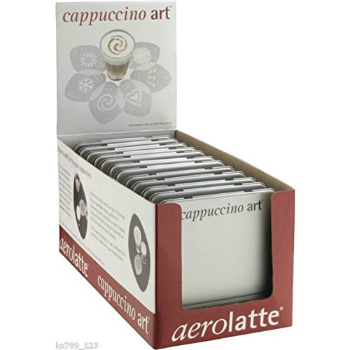 Eddingtons Aerolatte Cappuccino Art Stencils For Hot Chocolate Or Coffee (Pack of 6) by aerolatte
