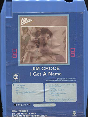 Anticuria Jim Croce: I Got a Name - Quadraphonic 8-Track for sale  Delivered anywhere in USA