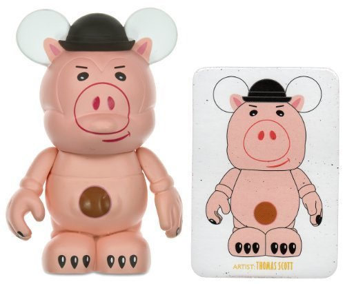 (Evil Dr. Porkchop (chaser) by Thomas Scott - Disney Vinylmation ~3