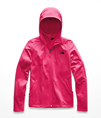 The North Face Women's Tech Mezzaluna Hoodie - Atomic Pink - M (North Face Womens Indi Fleece Hoodie Jacket)