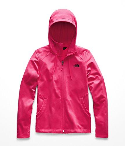 (The North Face Women's Tech Mezzaluna Hoodie - Atomic Pink - XS)