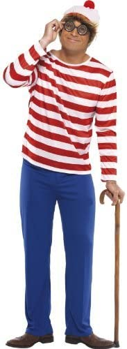 Fancy Dress To Impress - Disfraz de Wally adultos, talla UK 38 ...