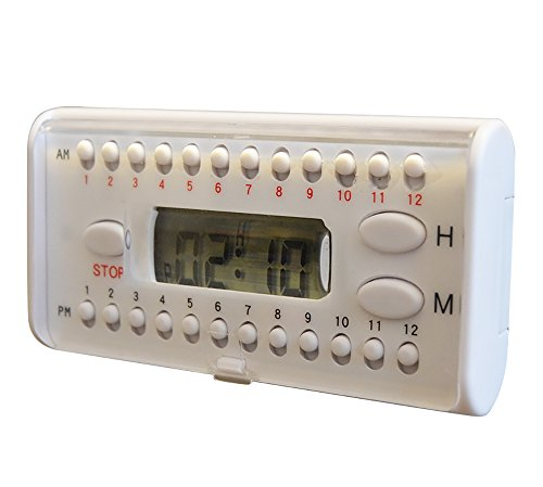 e-pill Multi-Alarm Home Refrigerator Pill Timer with Up to 6 Daily Alarms ()