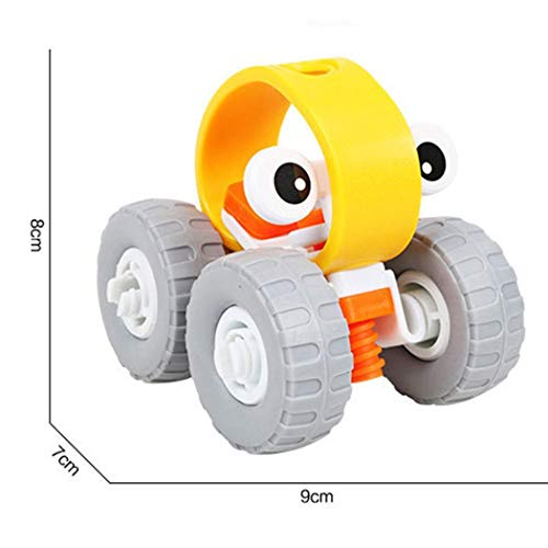 Cartoon Helicopter Car Shape Disassembly Stacking Toys Toddlers Children Educational Game (Off-road Vehicle) by CINUE (Image #2)