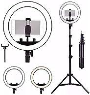 """Kit Completo Ring Light 14"""" 35cm com Tripé grande profiss"""