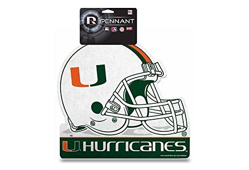 (Rico College Miami Die Cut Pennant with Header Card)