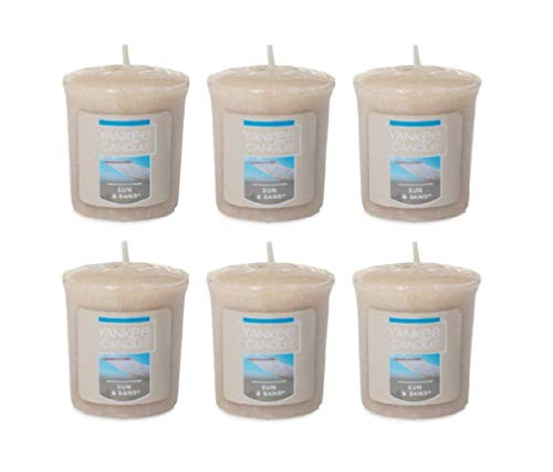 Yankee Candle Lot of 6 Sun & Sand Votive Candles