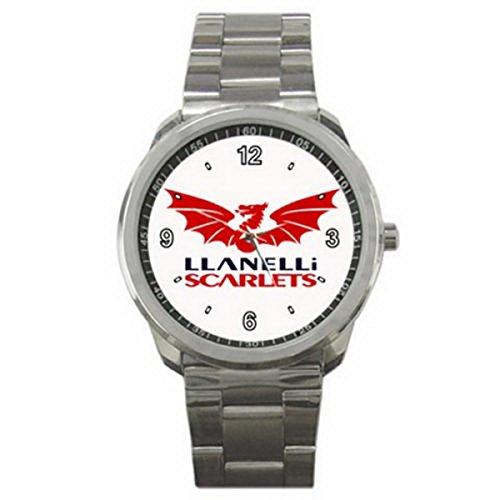 ADA075New Llanelli Scarlets RFC Welsh Rugby Club Sport Metal ()