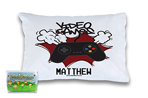 Customizable, Gamer Pillowcase Idea for a Child Gamer