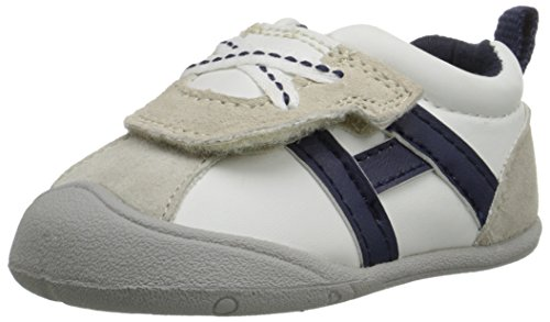 (Carter's Every Step Stage 1 Boy's Crawling Shoe, Oldie (Infant), White, 2.5 M US Infant)
