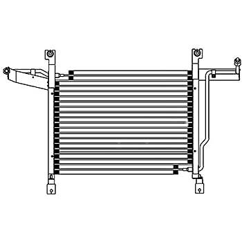 A//C Condenser APDI 7013603