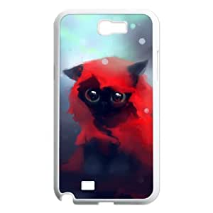GRTT Lovely Cat Customized Hard Case For Samsung Galaxy Note 2 N7100