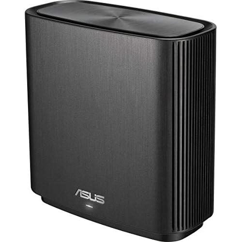 chollos oferta descuentos barato ASUS ZenWiFi AC CT8 Sistema Wi Fi Mesh Tri Banda AC3000 cobertura de más de 225m2 AiProtection con TrendMicro de por vida 4 puertos Gigabit adaptive QoS compatible con AiMesh color negro