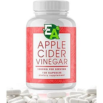 Amazon.com: Organic Apple Cider Vinegar Pills - 1200mg